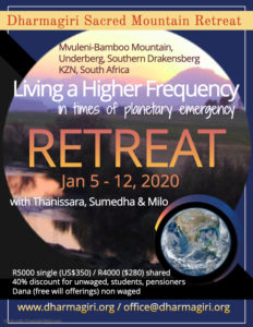 Retreat with Thanissara, Sumedha and Milo